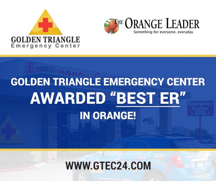 Golden-Triangle-Emergency-Center-best-er-orange-leader